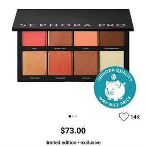 🎉B1G1🎉 Sephora Pro Face Palette in Medium